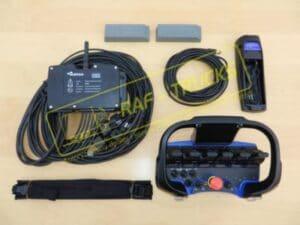 zestaw sterowania radiowego hds