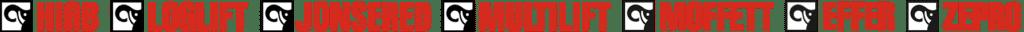 Logo HIAB Loglift Jonsered Multilift Moffett Effer Zepro
